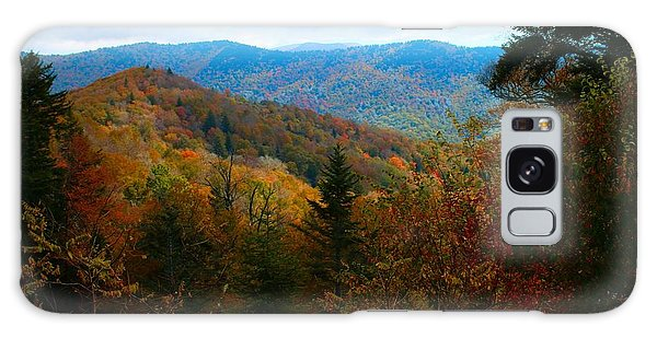 Fall In The Blue Ridge Mountains Galaxy Case