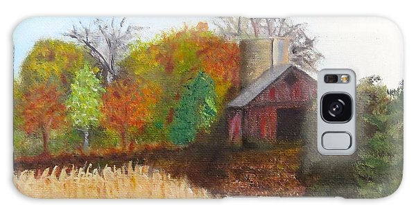Fall In Wisconsin Galaxy Case by Sharon Schultz