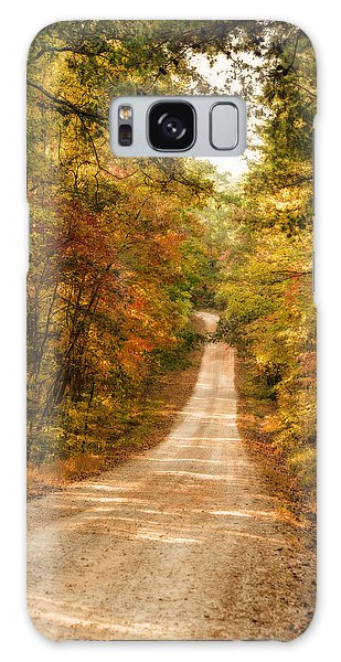 Fall Into Autumn Galaxy Case by Mary Timman