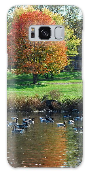 Fall Galaxy Case by Kathy Gibbons