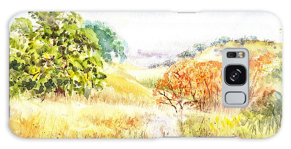 Outdoor Dining Galaxy Case - Fall Landscape Briones Park California by Irina Sztukowski