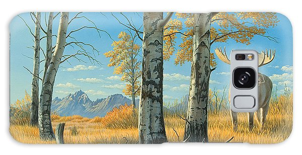 Teton Galaxy Case - Fall Landscape - Moose by Paul Krapf