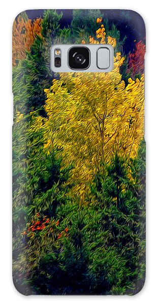 Fall Leaves Galaxy Case by Bill Howard