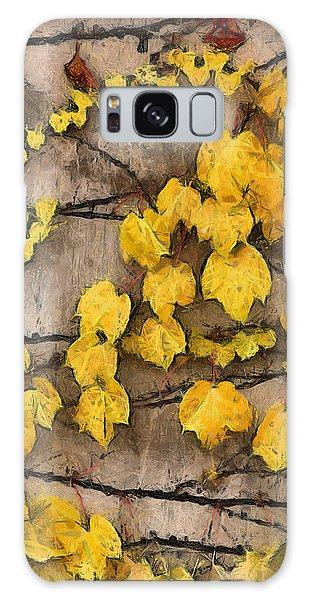 Fall Leaves II Galaxy Case