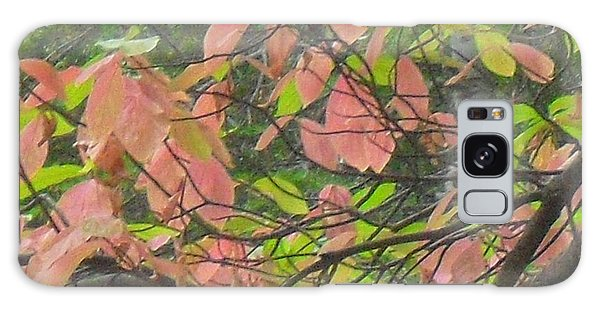 Fall Leaves Galaxy Case by Kristen R Kennedy