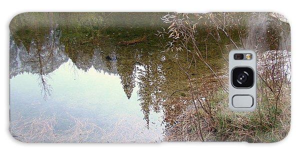 Fall Mirror Lake Reflections Galaxy Case