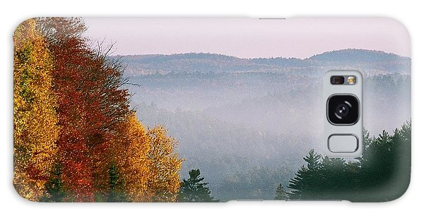 Fall Morning Galaxy Case by David Porteus