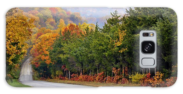 Fall On Fox Hollow Road Galaxy Case