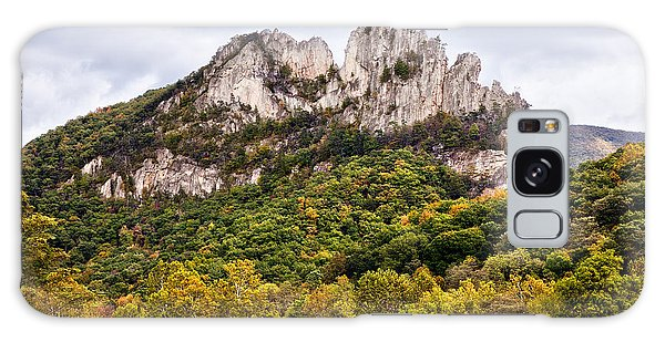 Fall On Seneca Rocks West Virginia Galaxy Case