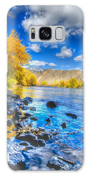 Fall On The Big Hole River  Galaxy Case