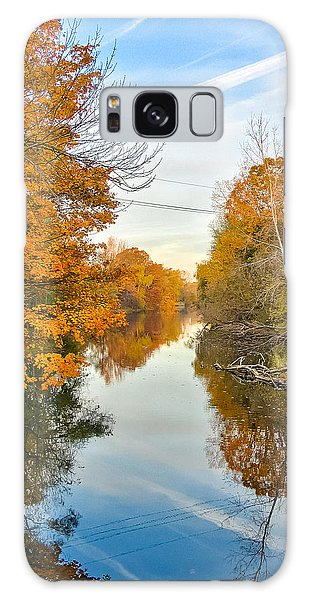 Fall On The Red Cedar  Galaxy Case