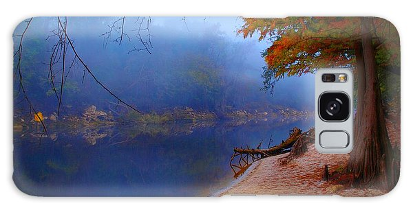 Fall On The Suwannee River Galaxy Case
