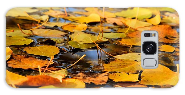 Fall On The Water  Galaxy Case
