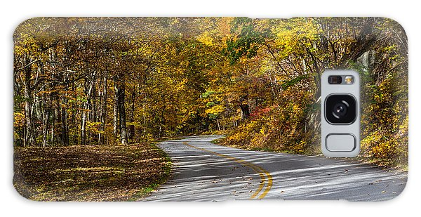 Fall Parkway Galaxy Case by David Cote