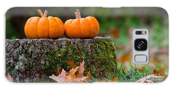 Fall Pumpkins Galaxy Case