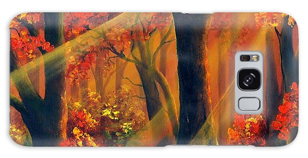 Fall Rays Galaxy Case