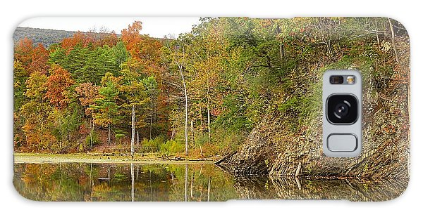 Fall Reflections At Pardee Pond #1 Galaxy Case