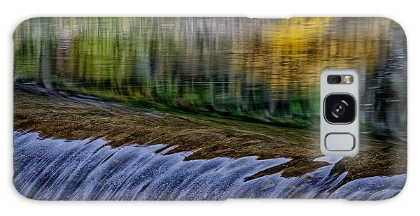 Fall Reflections At Tumwater Spillway Galaxy Case