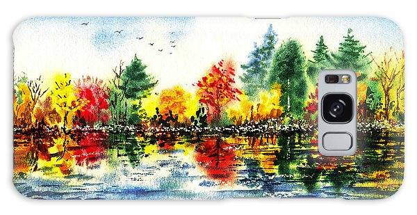Outdoor Dining Galaxy Case - Fall Reflections by Irina Sztukowski