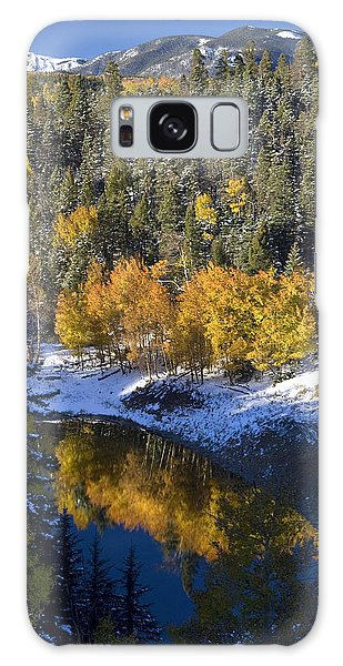 Fall Reflections On Bobcat Pass Galaxy Case
