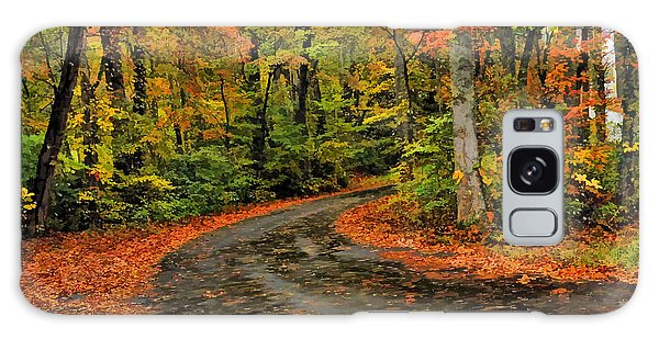 Fall Road To Glory Galaxy Case by Kenny Francis