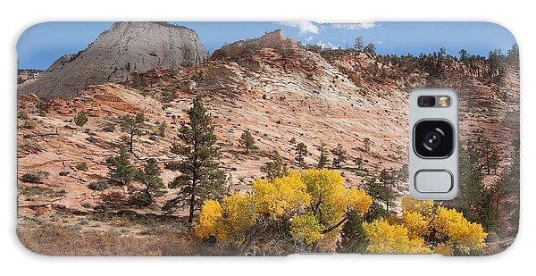 Fall Season At Zion National Park Galaxy Case by John M Bailey