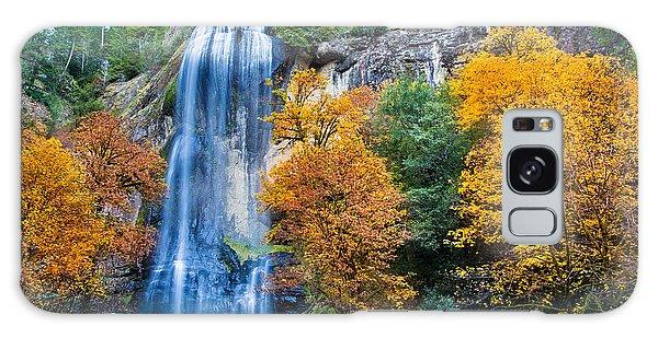 Fall Silver Falls Galaxy Case