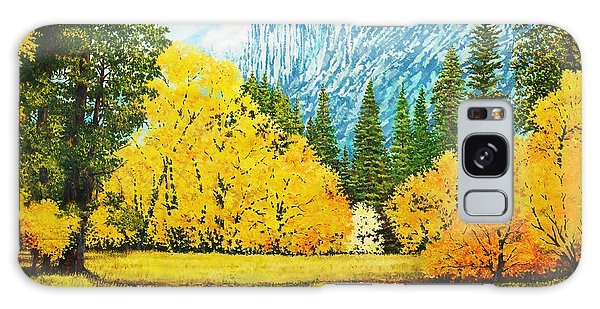 Fall Splendor In Yosemite Galaxy Case