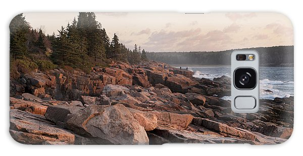 Fall Sunrise In Acadia Galaxy Case by Phyllis Peterson