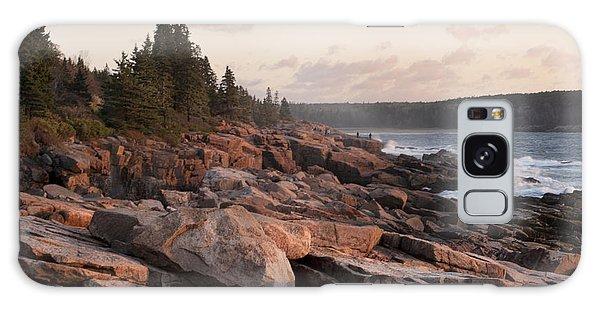 Fall Sunrise In Acadia Galaxy Case