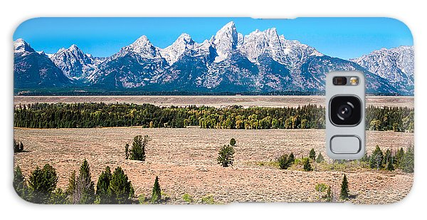 Fall Tetons   Galaxy Case