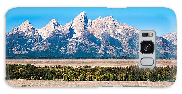 Fall Tetons Panorama   Galaxy Case
