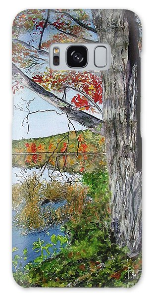 Fall Tree Galaxy Case