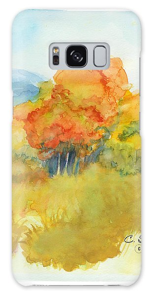 Fall Trees 2 Galaxy Case