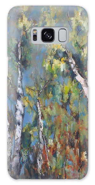 Fall Trees Galaxy Case