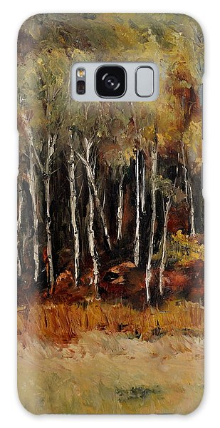 Fall Trees Number Two Galaxy Case by Lindsay Frost