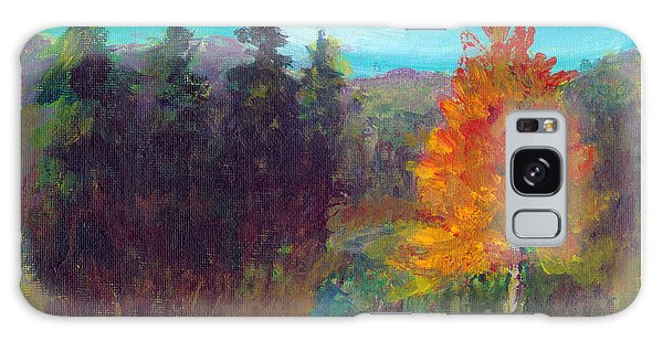 Fall View Galaxy Case