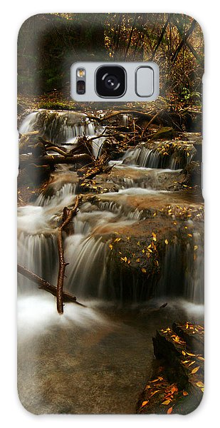 Fall With Grace Galaxy Case by Jeremy Rhoades