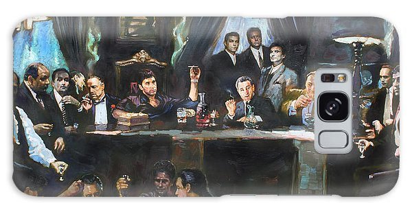The Galaxy Case - Fallen Last Supper Bad Guys by Ylli Haruni