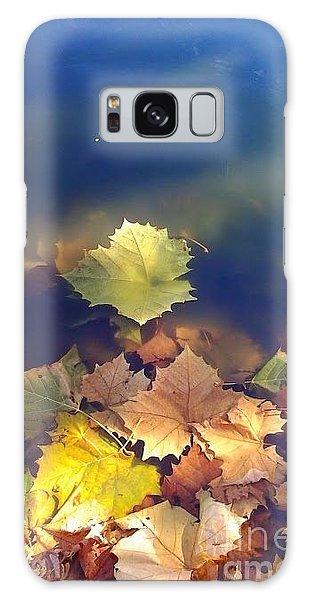 Fallen Leaf Galaxy Case by Susan Townsend