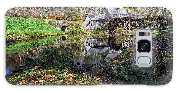 Fallen Leaves At Mabry Mill Galaxy Case