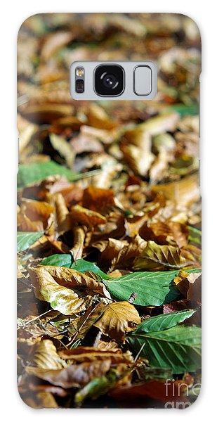 Mottled Galaxy Case - Fallen Leaves by Carlos Caetano