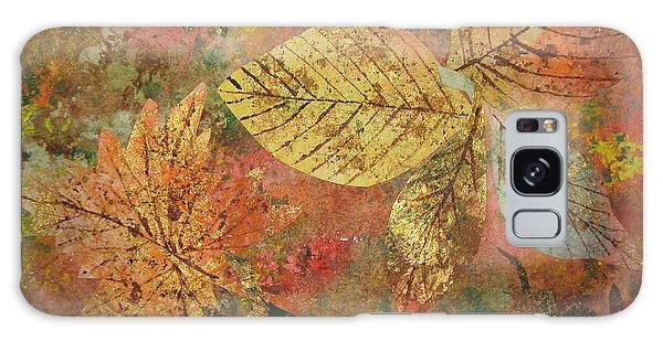 Fallen Leaves II Galaxy Case by Ellen Levinson