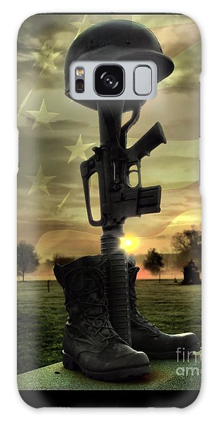 Fallen Soldiers Memorial Galaxy Case