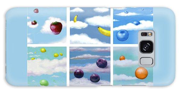 Falling Fruit Group Galaxy Case