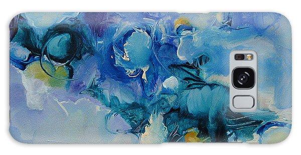 falling into blue I Galaxy Case