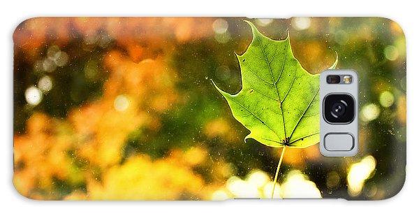 Falling Leaf Galaxy Case
