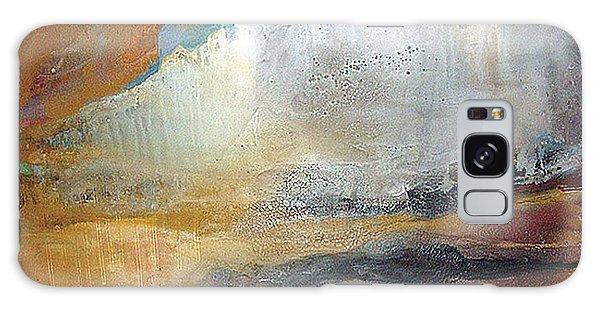 Falling Sky Ice Mountain Galaxy Case by Carolyn Goodridge