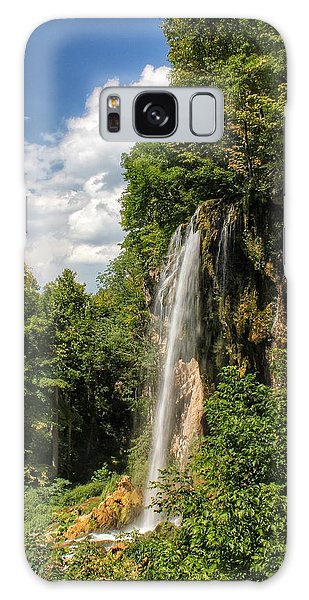 Falling Springs Falls Galaxy Case