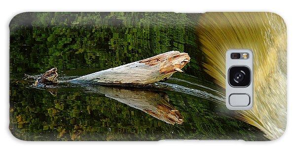 Falling Tree Reflections Galaxy Case by Debbie Oppermann